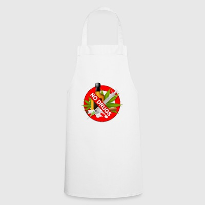 No drugs - Cooking Apron