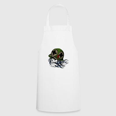 Skull first aid - Cooking Apron