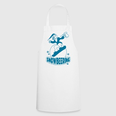 Snowbeering or snowboarding - Cooking Apron