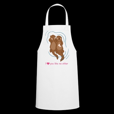 Otter Love - Cooking Apron