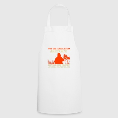 Firefighters firebrigade fire defense defender new ho - Cooking Apron