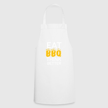 Barbecue barbecue BBQ coal Father's Day apron fire - Cooking Apron