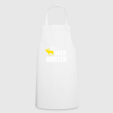 Hunters hunt in the forest forester Weidmann rifle Hunter - Cooking Apron