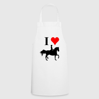 I love dressage riding - Cooking Apron