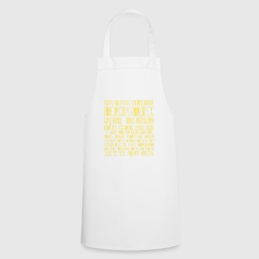 Texas Holdem Starting Hands - Cooking Apron