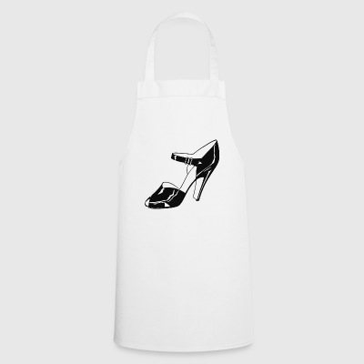 high heels - Cooking Apron