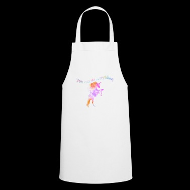 Can be anything unicorn unicorn - Cooking Apron