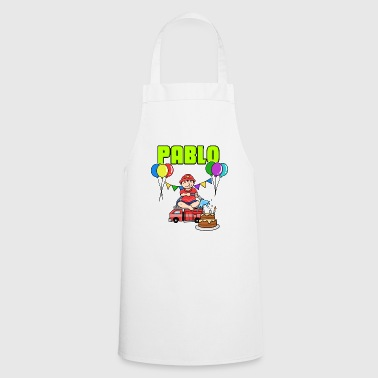 Fire Department Pablo gift - Cooking Apron
