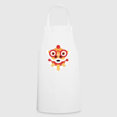 Chinese dragon with glasses - Cooking Apron