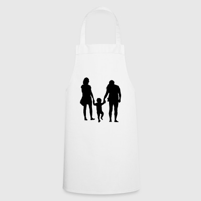 Parents with child - Cooking Apron