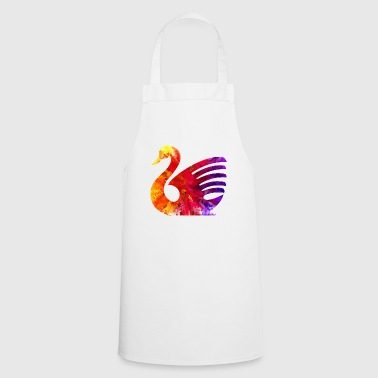 The swan colors - Cooking Apron