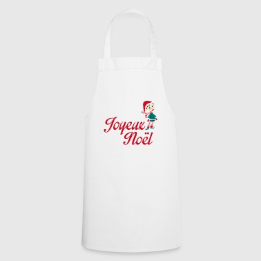 merry christmas leprechaun - Cooking Apron