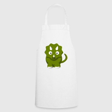 Dinosaur Comic Triceratops - Cooking Apron