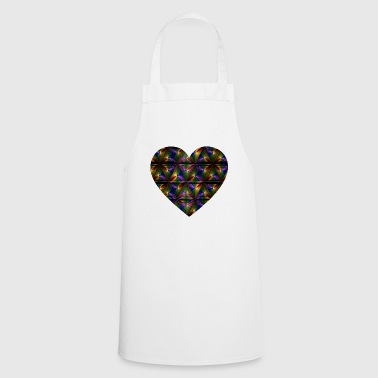 Rainbow Heart - Cooking Apron