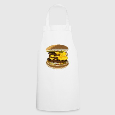 A tasty burger - Cooking Apron