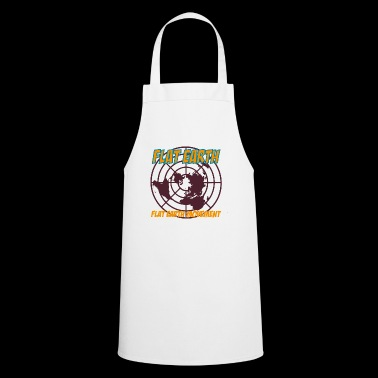 flat earth movement - Cooking Apron