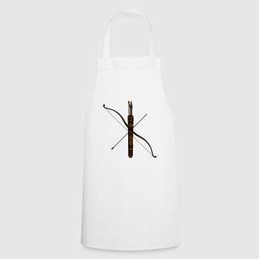 bow and arrow - Cooking Apron
