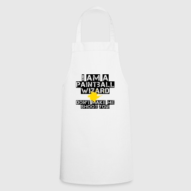 Paintball - Hobby - Leisure - Gotcha - Gift - Cooking Apron
