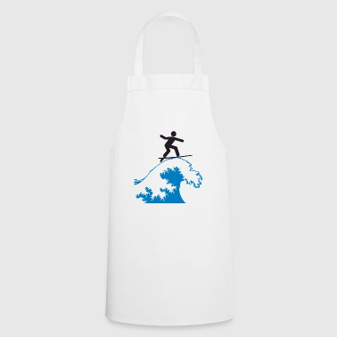 Ride waves - Cooking Apron