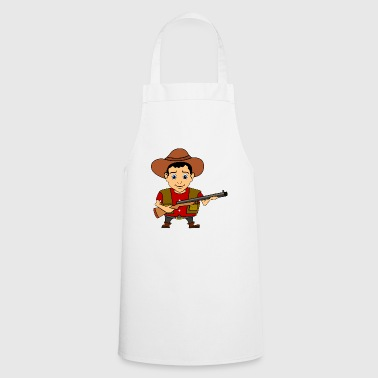 hunter cowboy jaeger hunting hunt hunting hunt - Cooking Apron