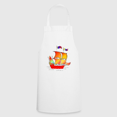 The red boat - Cooking Apron