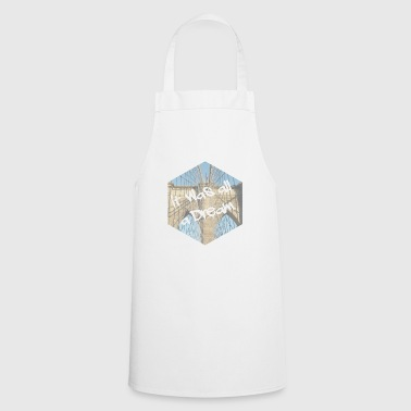 New York rap text - Cooking Apron