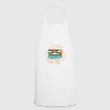 Retro Vintage Cassette Tape for Music Lovers - Cooking Apron