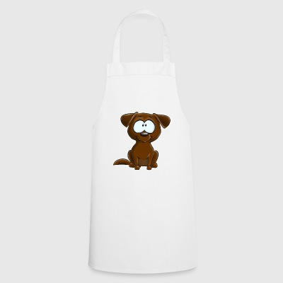 Chocolate Labrador - Cooking Apron