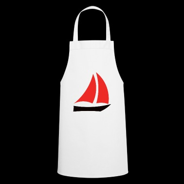 Boat sailboat yacht - Cooking Apron