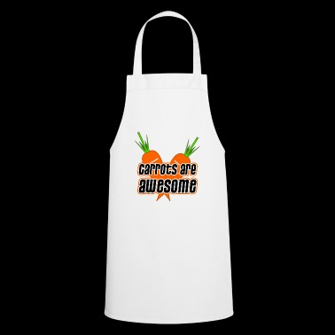 Carrots are awesome - carrots carrots vegetarian - Cooking Apron