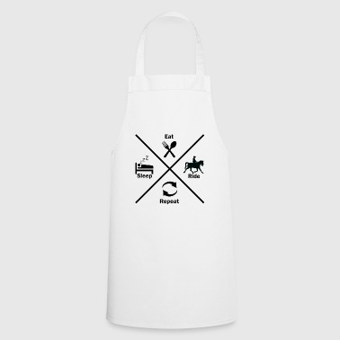 Horse riding ride horse horse geschenkidee gift - Cooking Apron
