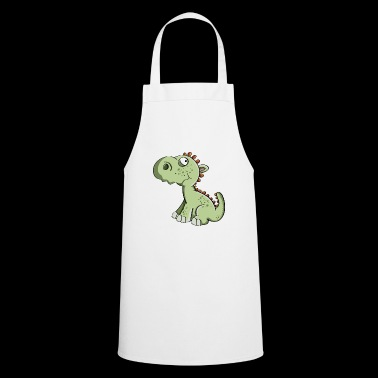 Little Dragon - Dinosaurs - Kids - Dragons - Cooking Apron