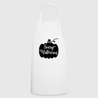 scary halloween pumpkin - Cooking Apron