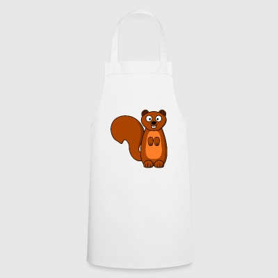 squirrel squirrel animal animals - Cooking Apron