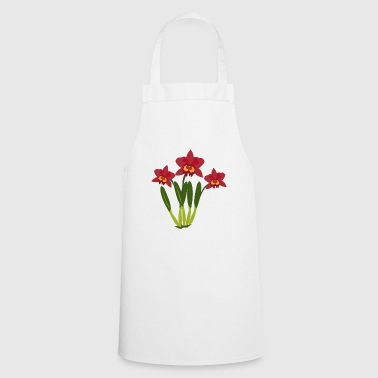 orchid - Cooking Apron