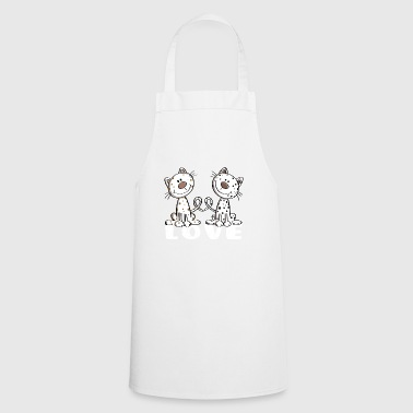 I Love Cats - Comic Book - Cat - Gift - Cats - Cooking Apron