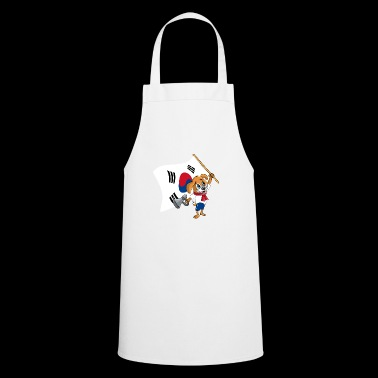 South Korea fan dog - Cooking Apron