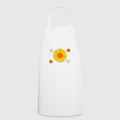 Yellow flowers - Cooking Apron