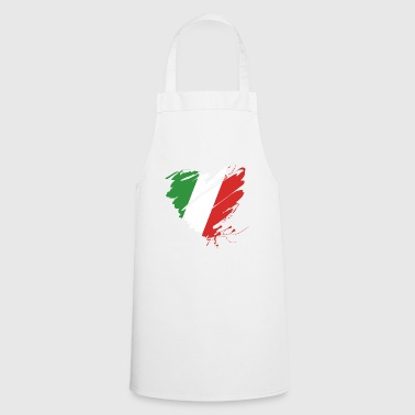 Heart Cuore Italy Italy Football - Cooking Apron