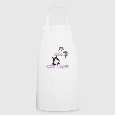 Crazy Cat Lady - Cooking Apron