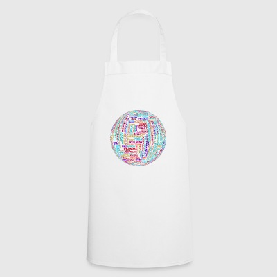 Yoga globe - Cooking Apron