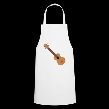Ukulele music instrument - Cooking Apron