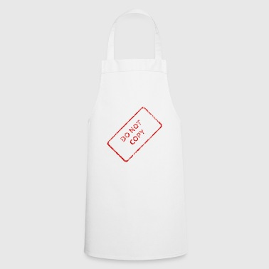 Do not copy - Cooking Apron
