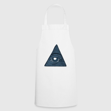 all seeing eye - Delantal de cocina