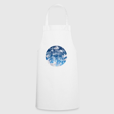Airline Gift Airplane Pilot Airplane Runway - Cooking Apron