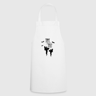 HALLOWEEN TRICK or TREAT ghosts sweet or sour - Cooking Apron
