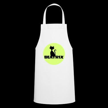 Beatrix, my name is, name tag name tshirt - Cooking Apron