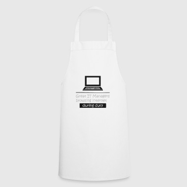 IT Manager Informatics IT Nerd Computer Science Gift - Cooking Apron
