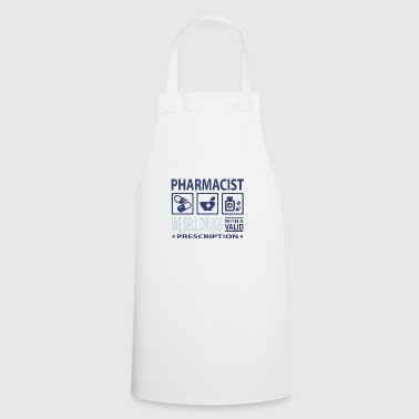 Pharmacist pills tablets medicine doctor emergency physician - Cooking Apron