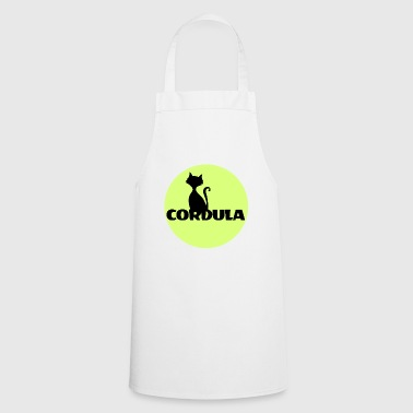 Cordula Name First name - Cooking Apron